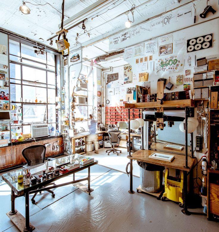 Artist Casey Neistat's Organized Chaos