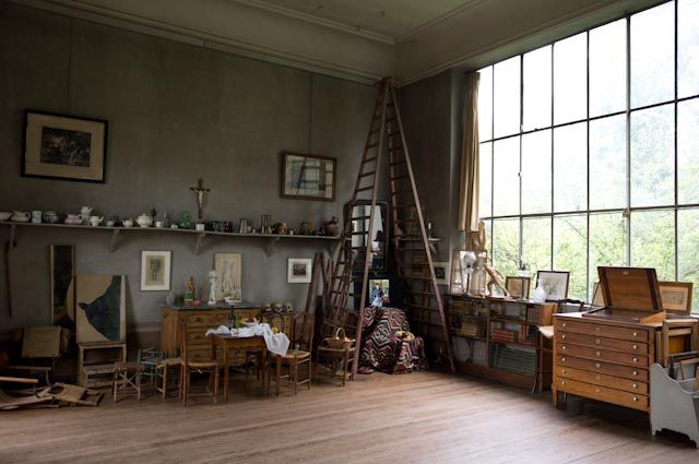 Cézanne's Rustic Studio in Aix-En-Provence