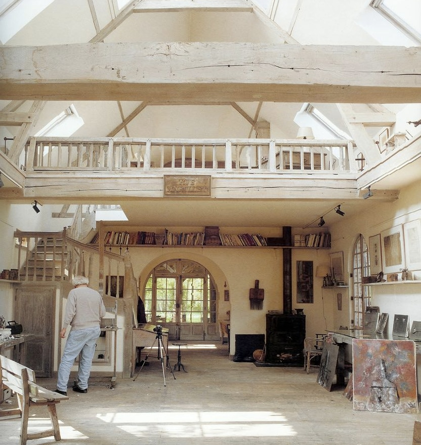 Yuri Kuper's Barn House Studio in Normandy