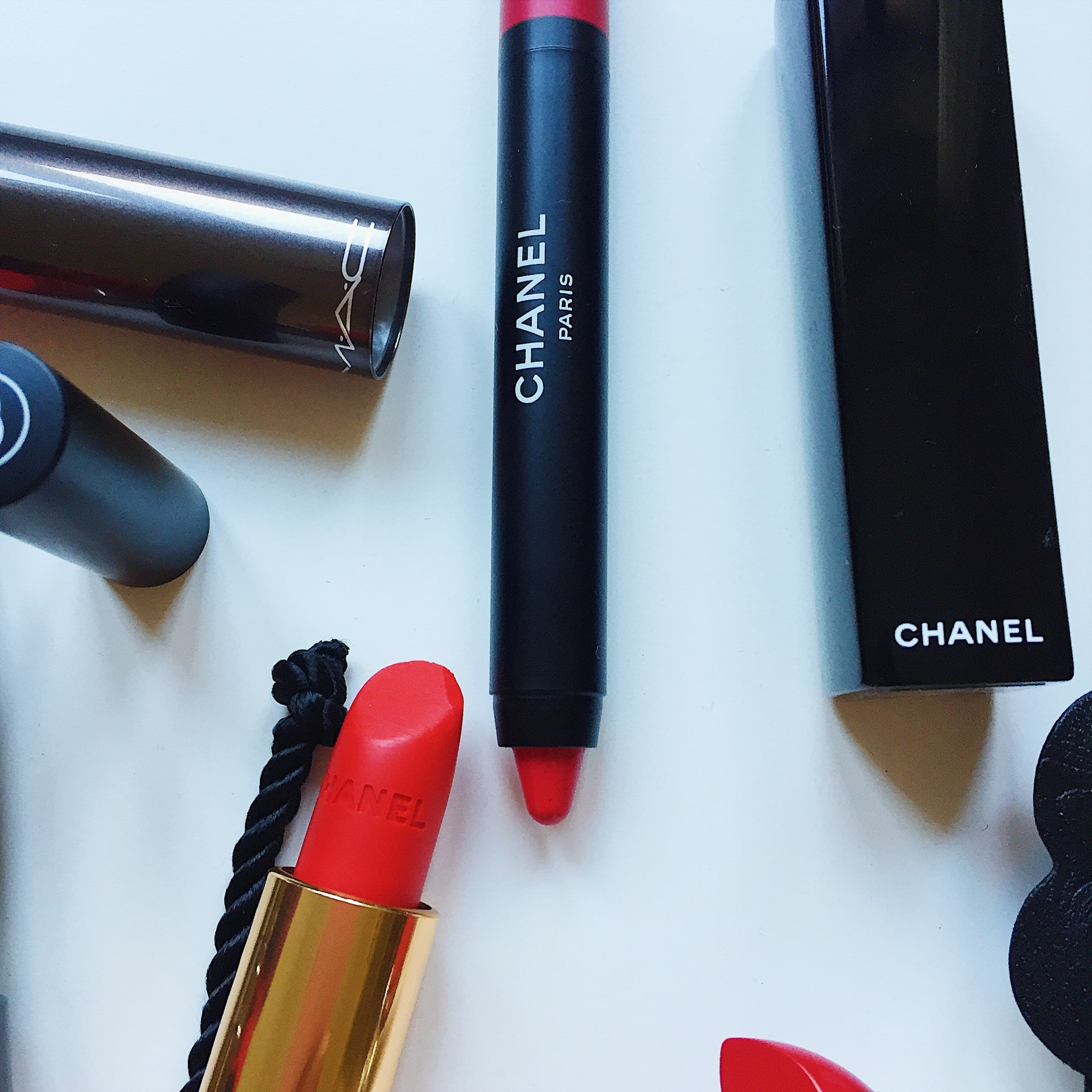 CHanel pencil and lipstick