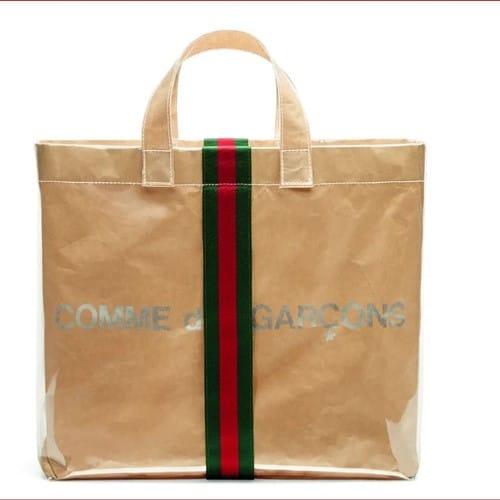 Gucci bag inside